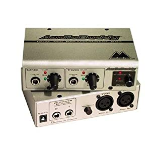 Quality Audio Buddy Preamp By M-Audio