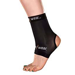 Copper Wear Compression Ankle Sleeve, XXL