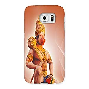 Ajay Enterprises Hanuman Lord Back Case Cover for Samsung Galaxy S6