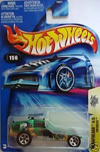 "Hot Wheels Enforcer ""Scrapheads"" NO HEADLIGHT CARD #156 (2004)"