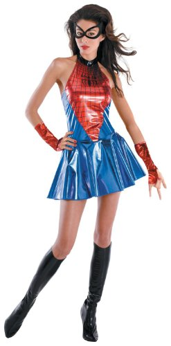 Disguise Adult Spider Girl Sassy Deluxe Costume