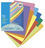 Array Card Stock, 8.5 x 11 Inches, 10 color, 100 Sheets (101169)