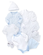10 Piece Pure Cotton Starter Set