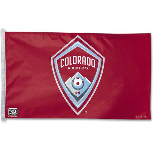 MLS Colorado Rapids 3-by-5 foot Flag