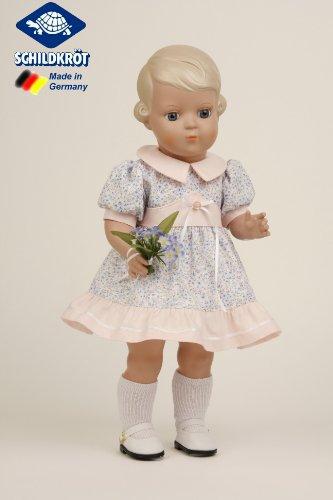 Schildkröt Puppe Inge Miblu mit Glaskugelaugen 8841853 - 41 cm