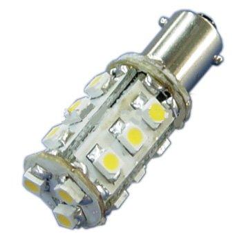 Ledwholesalers Mini Bayonet Ba9S Led Auto Bulb 15 Smd Led, White, 1436Wh