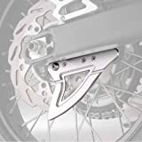 YAMAHA(ヤマハ) アルミ リアディスクガード WR250R/WR250X シルバー Q5K-YSK-057-E31