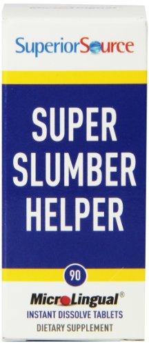 Superior Source Super Slumber Helper Instant Dissolve Tablets, 90 Count