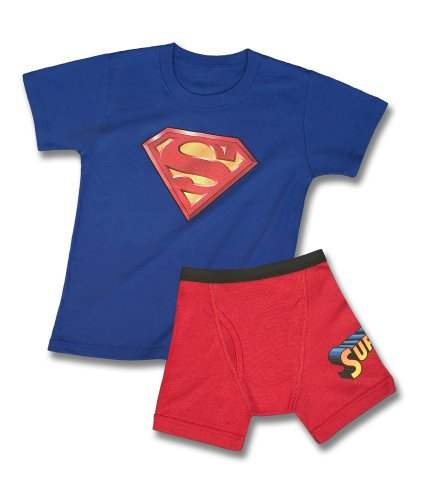 Fruit of the Loom Boys 2-7 Fruit Of The Loom Boys Superman Underoos Prints