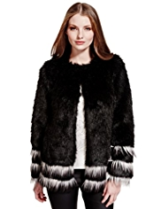 Limited Edition Faux Fur Jacket