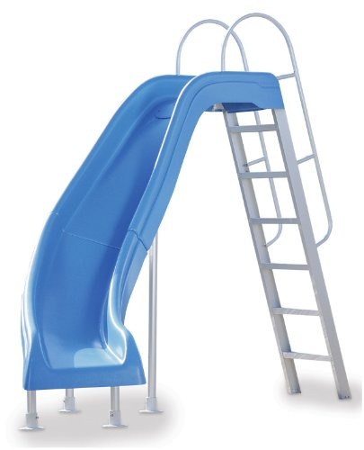 Inter-Fab CITY2-CLB City Slide Left Turn Slide Kit, Blue (Swimming Pool Slide compare prices)