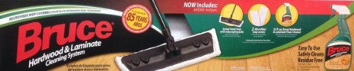 Bruce Hardwood & Laminate Cleaning System (with Microfiber Mop Cover) (Bruce Floor Cleaner Mop Covers compare prices)