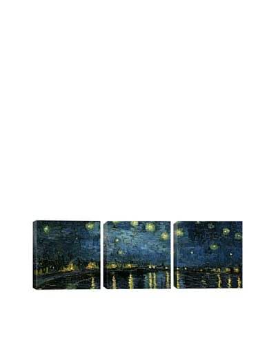 Starry Night Over The Rhone by Vincent Van Gogh (Panoramic), 48 x 16 As You See