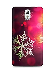 Amez designer printed 3d premium high quality back case cover for Lenovo Vibe P1M (Christmas bokeh holiday pattern)