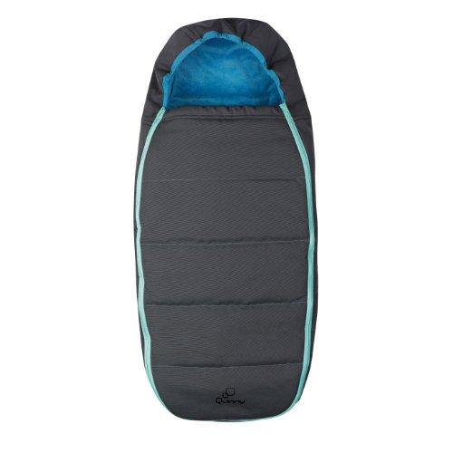 Quinny Buzz Stroller Footmuff, Blue Scratch - 1
