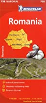 Michelin Romania Map 738 (Maps/Country (Michelin))