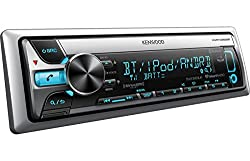 See Kenwood Single-Din Marine CD/MP3/USB BLUETOOTH Radio Receiver with All NEW AptX Technology and Variable Color Illumination Details