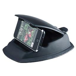i.Trek Universal Dashboard Mount with Built-In Holder - Black