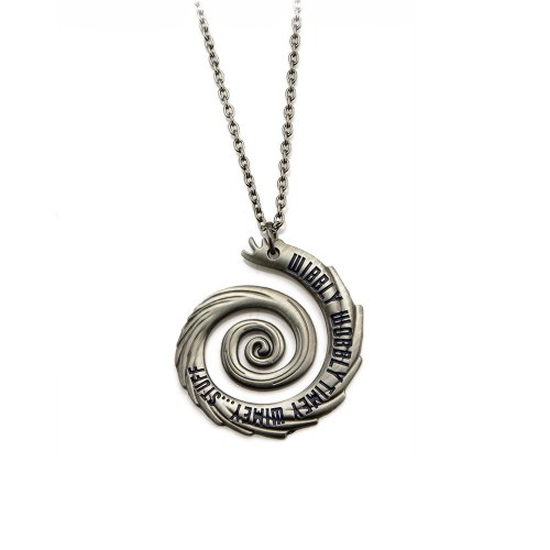 Doctor Who Wibbly Wobbly Timey Wimey Pendant Necklace from Doctor Who