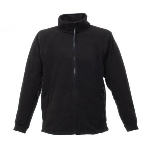 Regatta RG122 Men's Thor III Anti-Pill Symmetry Fleece Jacket, XX-Large, Black