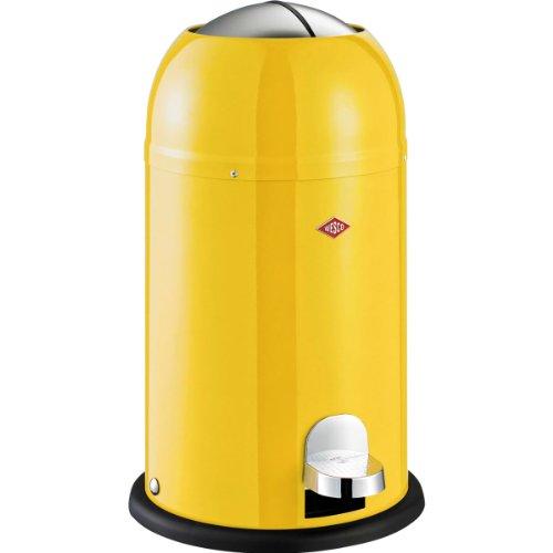 Wesco 180 312-19 Kickmaster Junior Abfallsammler, lemon yellow