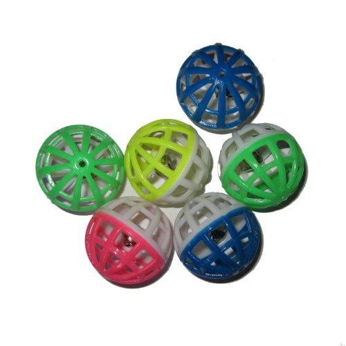 Good Crazy Joe's Bag of Toys (Lattice Cat Balls with Bell, 12 Balls)