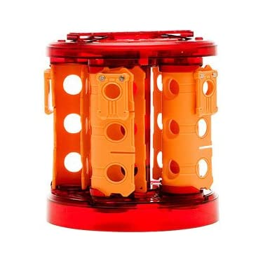 Bakugan Bakurack   Red With Orange Clips