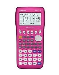 Casio fx-9750GII Graphing Calculator, Pink