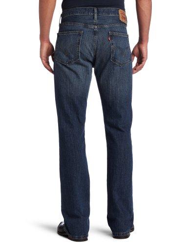 43bbbcf1 Dark Wash Jeans Levi'S Men'S 527 Slim Boot Cut Jean, Indie Blue, 32X32