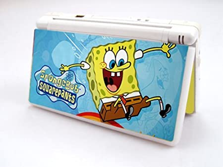 SPONGEBOB Decorative Protector Skin Decal Sticker for Nintendo DS Lite