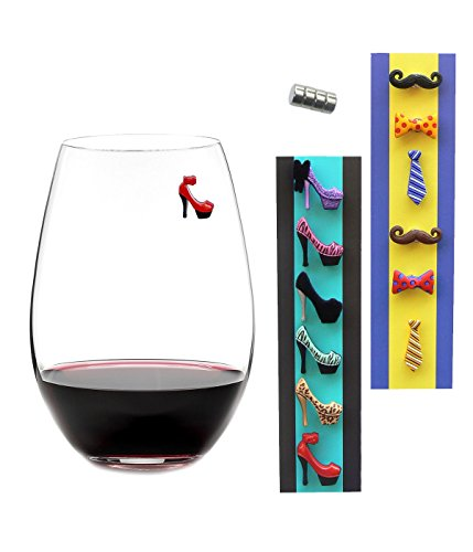 how to make magnetic wine charms