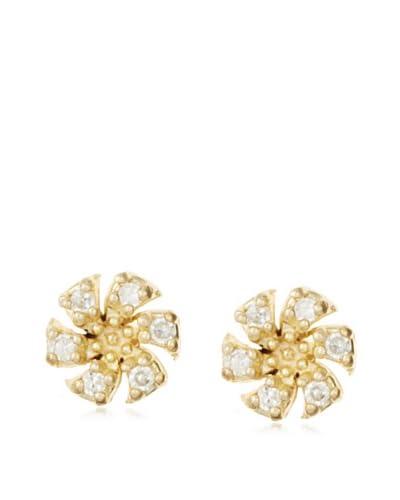 Fraydee Collection Pinwheel Stud Earrings As You See
