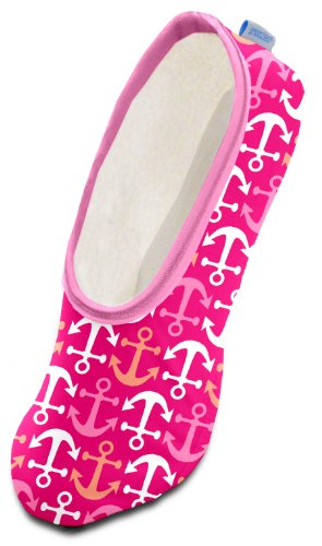 Snoozies by the Sea Women's Lightweight Skinnies Footcovering Slippers