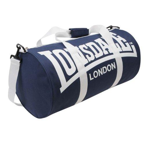 Lonsdale-Borsa sportiva, mod. 2), colore: blu/bianco, taglia unica