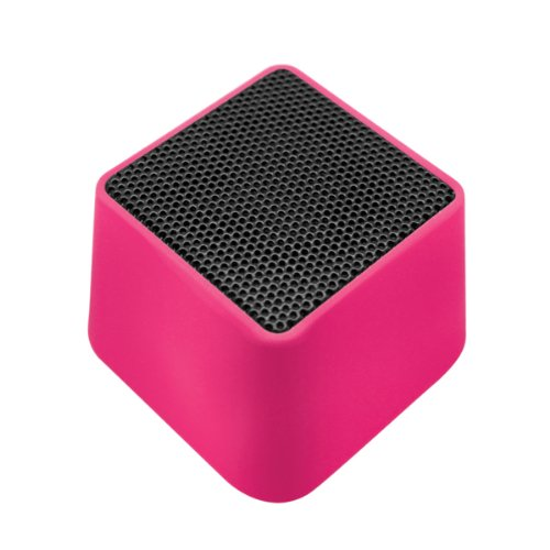 VIBE SOUND VSAU-513-PNK Bluetooth Rhombo Speaker for Smartphones – Retail Packaging – Pink