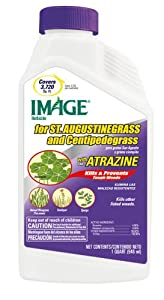 Image St. Augustine Grass with Concentrate Atrazine Weed Killer, 32-Ounce (Discontinued by Manufacturer)