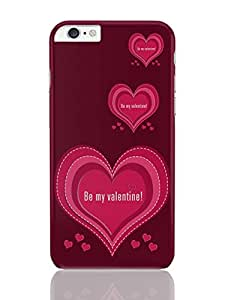 PosterGuy iPhone 6 Plus Case & Cover - Be My Valentine Love , Valentines day , Feb14 , Art, Valentine
