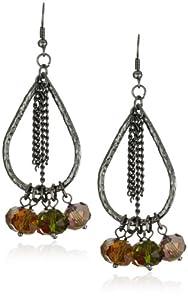"Sparkling Sage ""Jewel"" Bauble Bead Jewel-Tones Earrings"