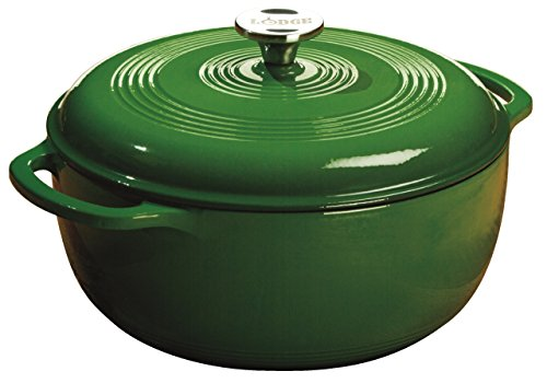 Lodge EC6D53 Color 6-Quart Dutch Oven (Emerald Green)