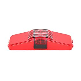 USA Made - TecNiq Red LED Clearance Side Marker Light 1x4 Camper /Trailer Truck (Light Only)