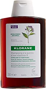 Klorane Shampoo with Quinine and B Vitamins, 0.99 Lb.