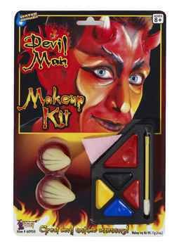Deluxe Devil Make-Up Kit Accessory