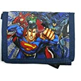 Superman Tri-fold Wallet-  Justice League America Wallet
