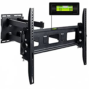 tv wall mount bracket swing tilt arm max 65 heavy weight. Black Bedroom Furniture Sets. Home Design Ideas