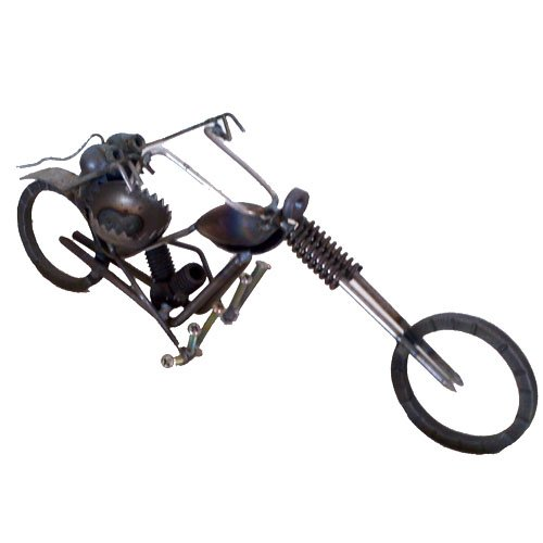 Gnome Be Gone Mini Chopper Motorcycle