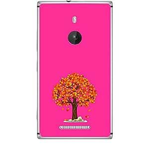 Skin4gadgets Fall Tree Colour - Medium Orchid Phone Skin for LUMIA 925