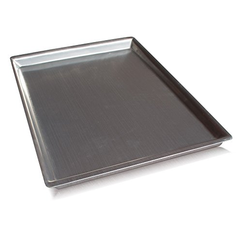 Island Ware Heavy Duty Half Sheet Pan - USA Made - Best 12, Not 13 Gauge Pans - Newly Designed to Bake Perfect Cookies, Cakes or Brownies - With This Bakeware You Are Set! (13 Gauge Baking Sheet compare prices)