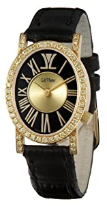Le Vian Women's ZAG 110 Centurion 18K Gold Yellow Diamond Watch by Le Vian