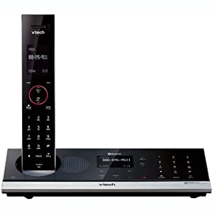 V-Tech LS6245 DECT 6.0 Expandable Cordless Phone (Black)