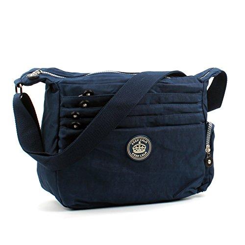 aossta-womens-multi-zip-pockets-fabric-lightweight-cross-body-bag-shoulder-bag-messenger-bag-k8005-n